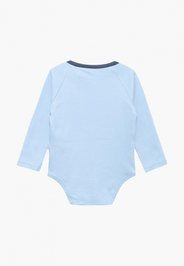 Боди для новорожденного Coccodrillo цвет голубой  Фото 2