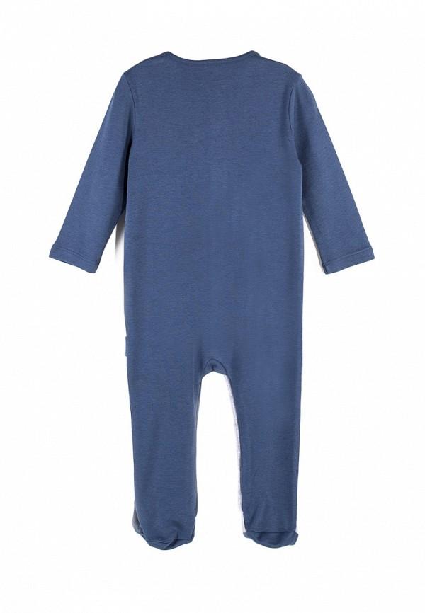Детский комбинезон бельевой Coccodrillo цвет синий  Фото 2