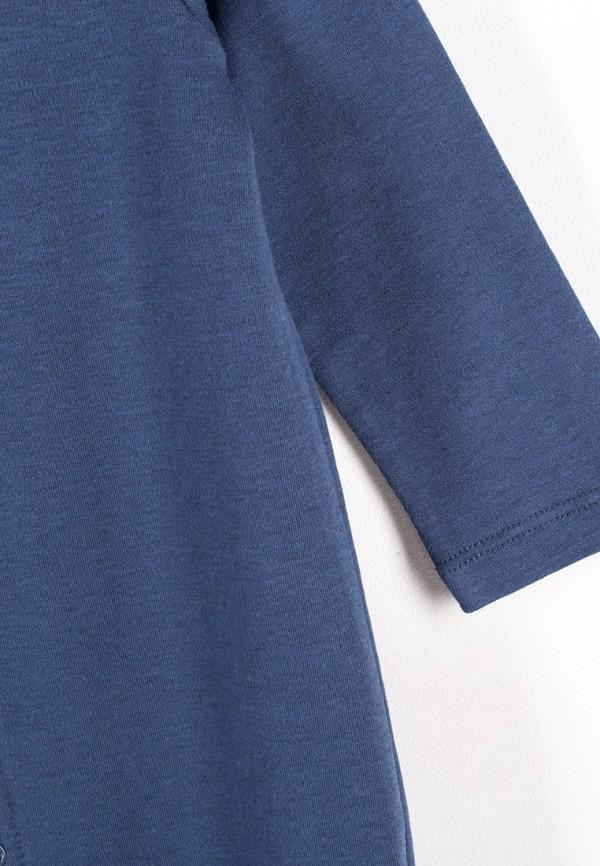 Детский комбинезон бельевой Coccodrillo цвет синий  Фото 5
