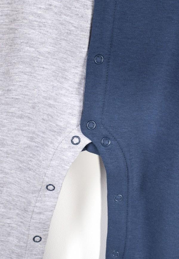 Детский комбинезон бельевой Coccodrillo цвет синий  Фото 6