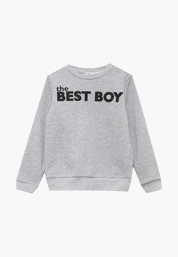 свитшот chadolini для мальчика, серый