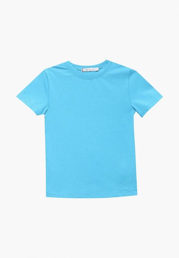 футболка с коротким рукавом chadolini для мальчика, бирюзовая