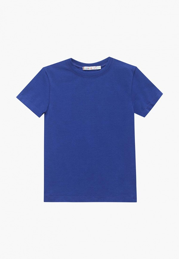 футболка с коротким рукавом chadolini для мальчика, синяя