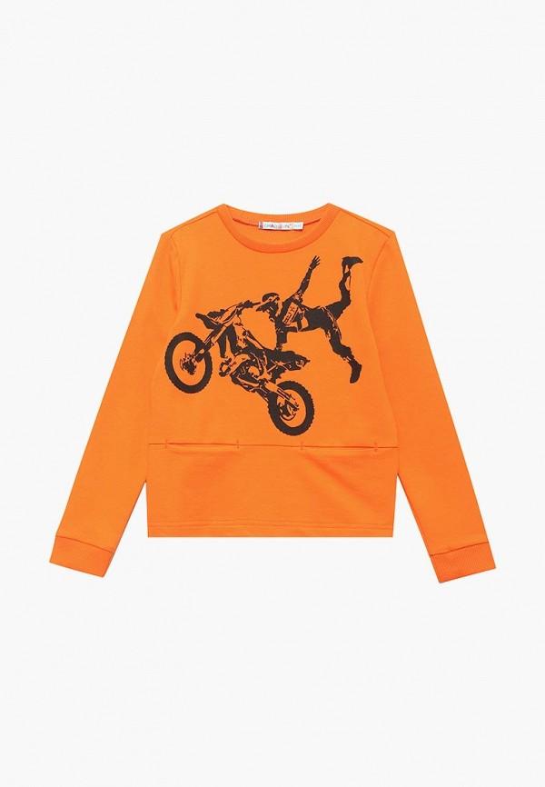 свитшот chadolini для мальчика, оранжевый