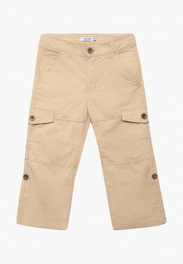 брюки incity для мальчика, бежевые