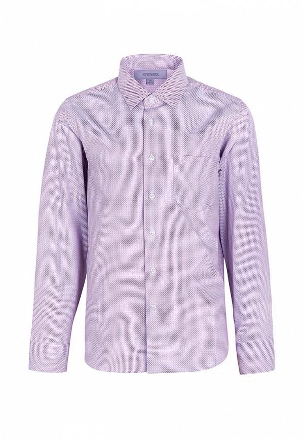рубашка stenser для мальчика, разноцветная