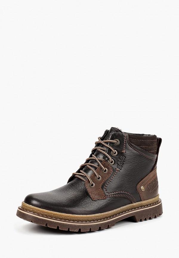 ботинки zain для мальчика, коричневые