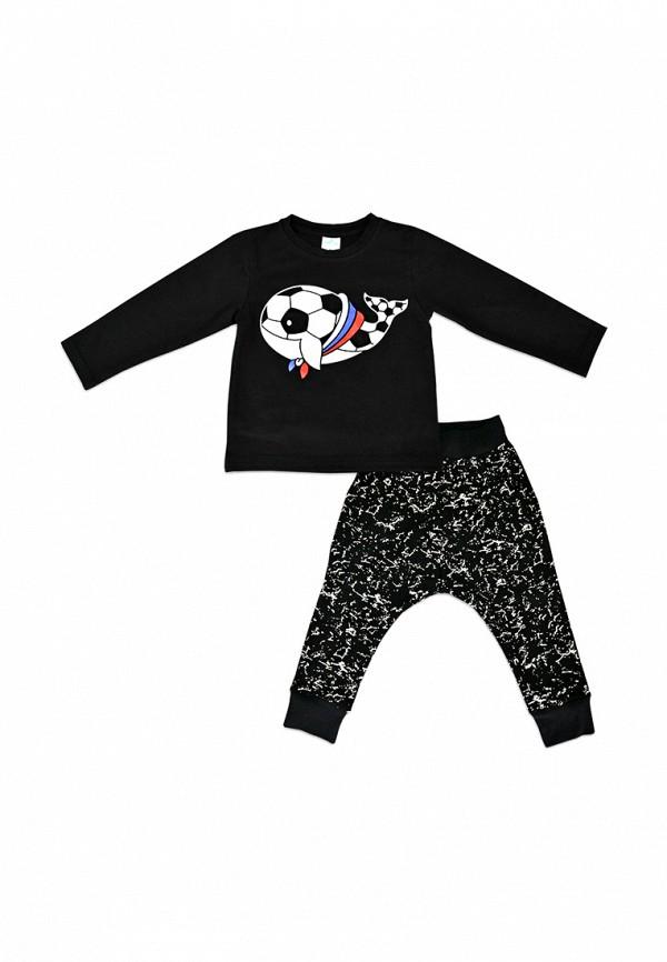 спортивные спортивный костюм кит для мальчика, черный