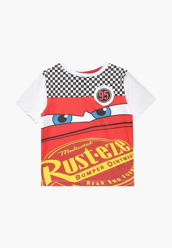 футболка с коротким рукавом disney для мальчика, разноцветная