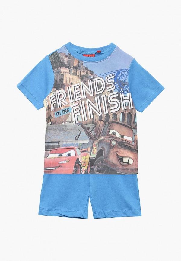 Купить Пижама Disney, CARS, MP002XB006R2, синий, Весна-лето 2018