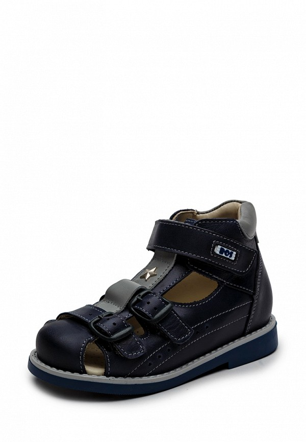 Купить Туфли BOS Baby Orthopedic Shoes, MP002XB006UI, синий, Весна-лето 2018