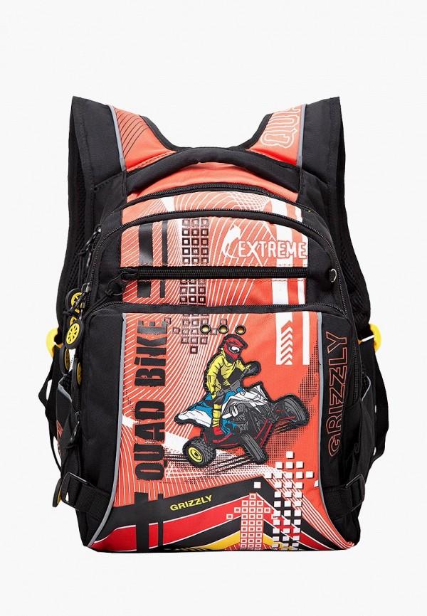 Рюкзак Grizzly Grizzly MP002XB006WS grizzly рюкзак цвет серый оранжевый rb 733 2 4