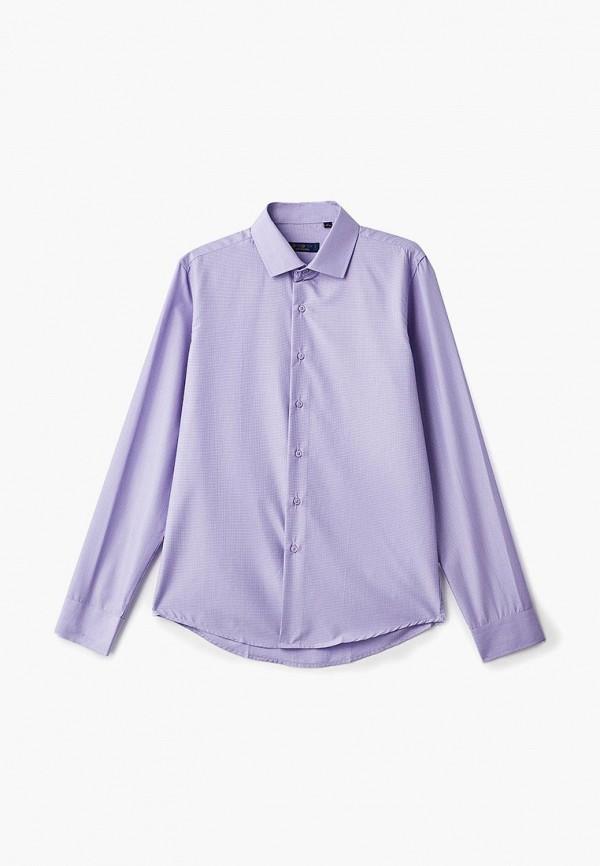 Рубашка для мальчика Katasonov цвет фиолетовый