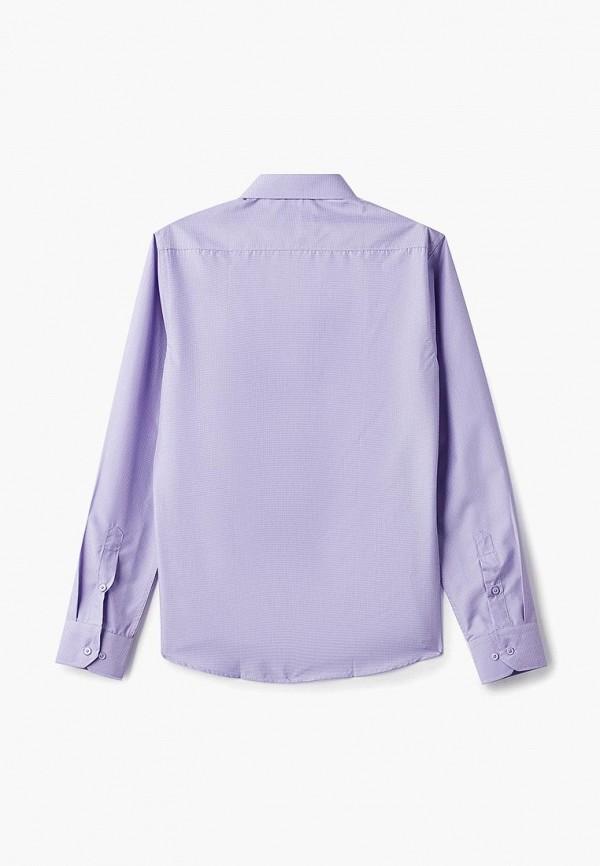 Рубашка для мальчика Katasonov цвет фиолетовый  Фото 2