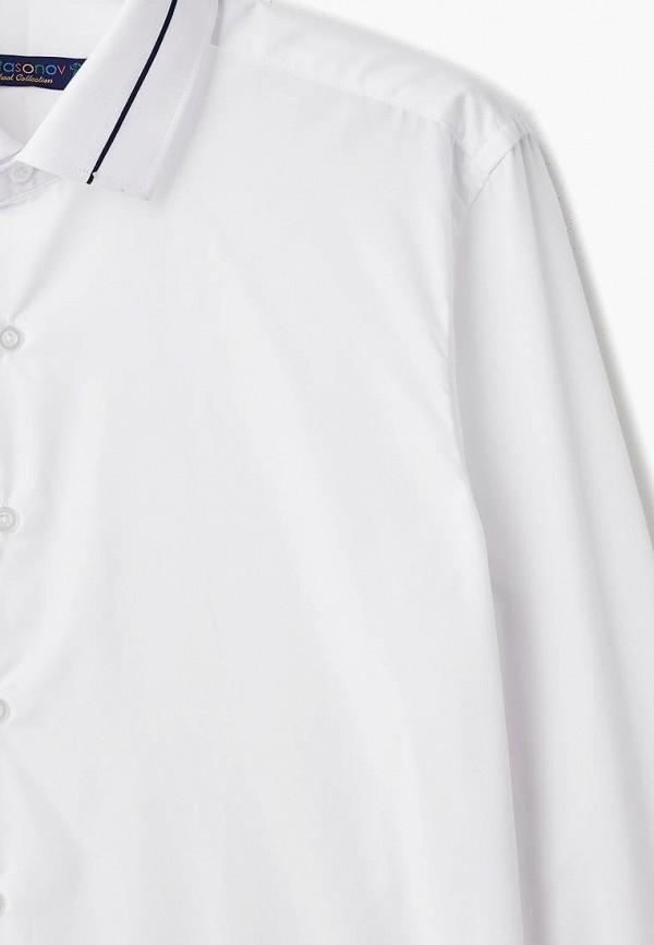 Рубашка для мальчика Katasonov цвет белый  Фото 3