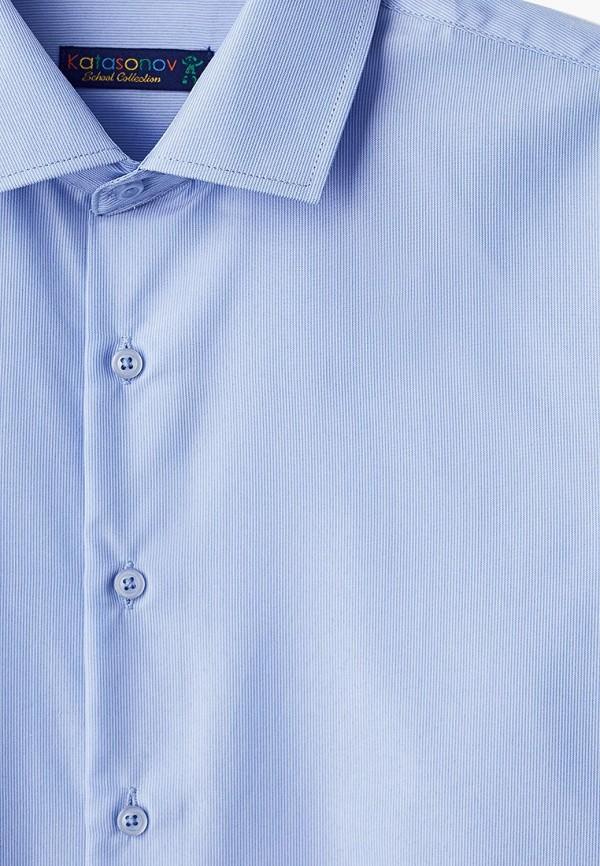 Рубашка для мальчика Katasonov цвет голубой  Фото 3