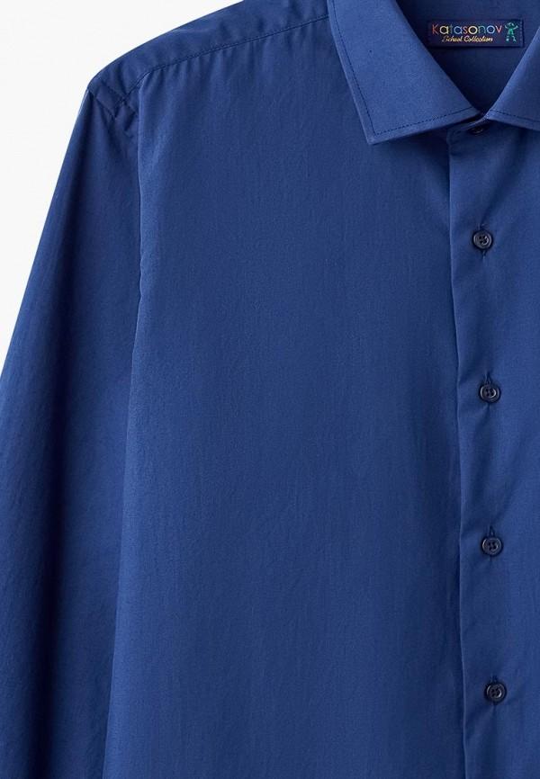 Рубашка для мальчика Katasonov цвет синий  Фото 3