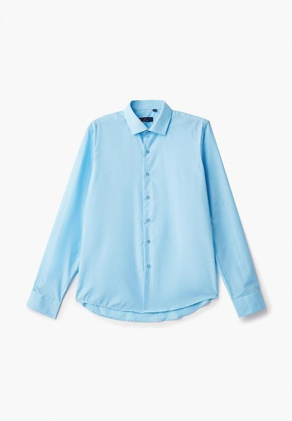 рубашка katasonov для мальчика, голубая