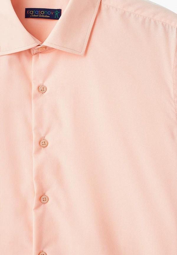 Рубашка для мальчика Katasonov цвет оранжевый  Фото 3