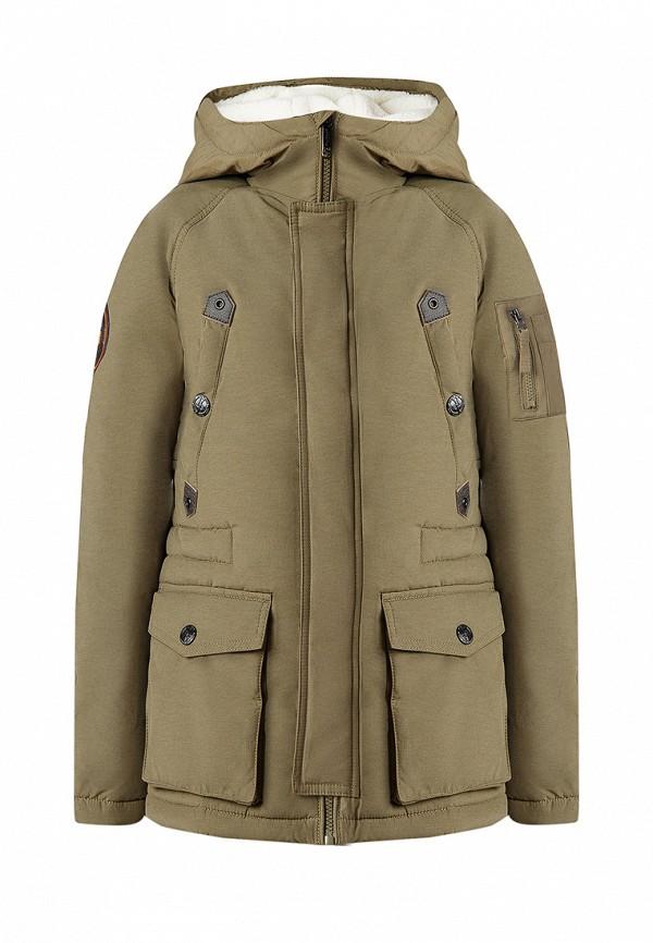 Купить Куртка утепленная Finn Flare, MP002XB0070F, хаки, Осень-зима 2018/2019