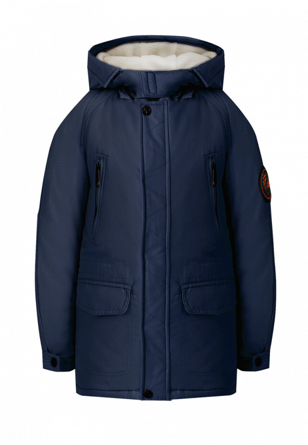 Куртка для мальчика утепленная Finn Flare цвет синий