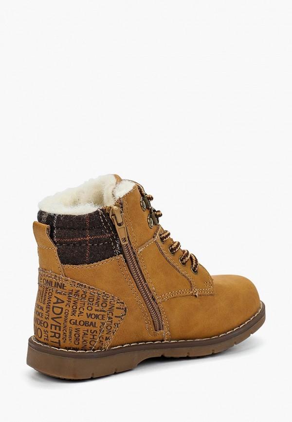 Фото 2 - Ботинки Biker коричневого цвета