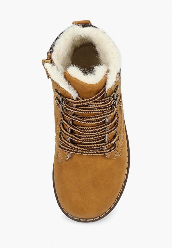 Фото 4 - Ботинки Biker коричневого цвета