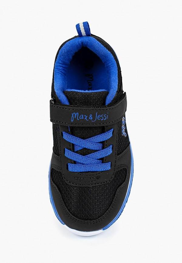 Кроссовки для мальчика Max & Jessi цвет черный  Фото 4