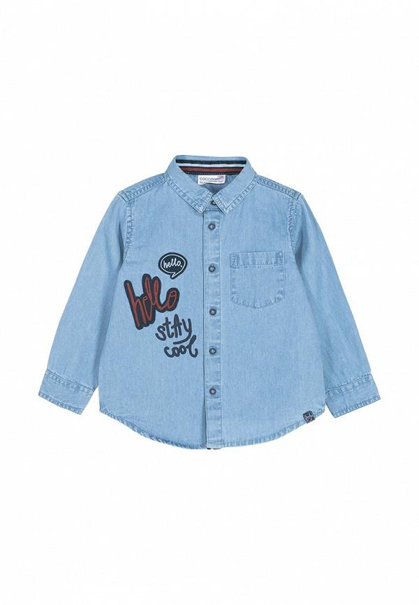 Рубашка джинсовая Coccodrillo Coccodrillo MP002XB007I5
