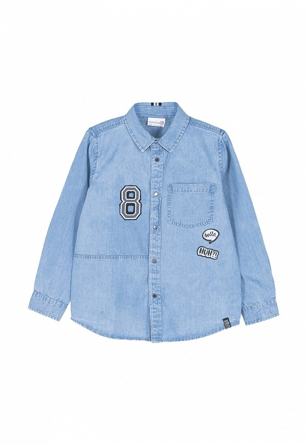 Рубашка джинсовая Coccodrillo Coccodrillo MP002XB007JH рубашка quelle coccodrillo 1005037