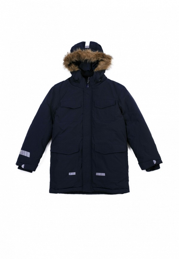Куртка для мальчика утепленная S'Cool цвет синий