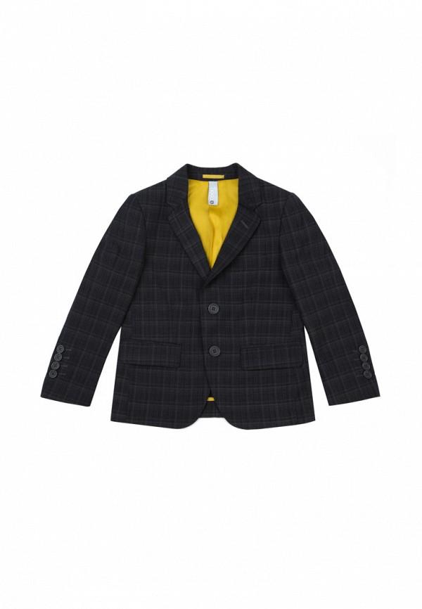 пиджак s'cool для мальчика, серый