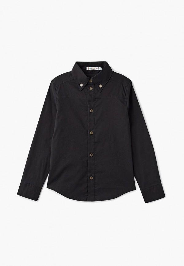 рубашка chadolini для мальчика, черная