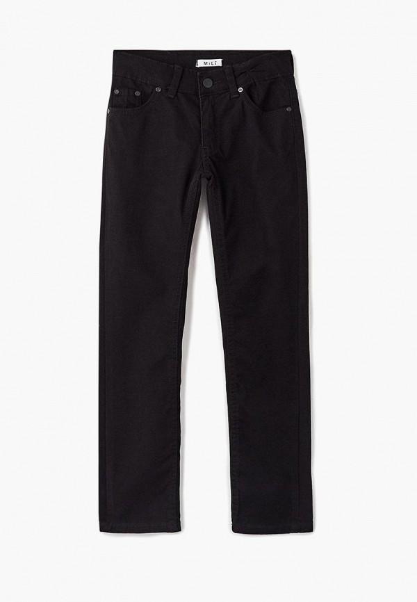 брюки mili для мальчика, черные