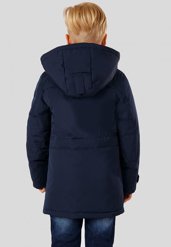 Куртка для мальчика утепленная Finn Flare цвет синий  Фото 4