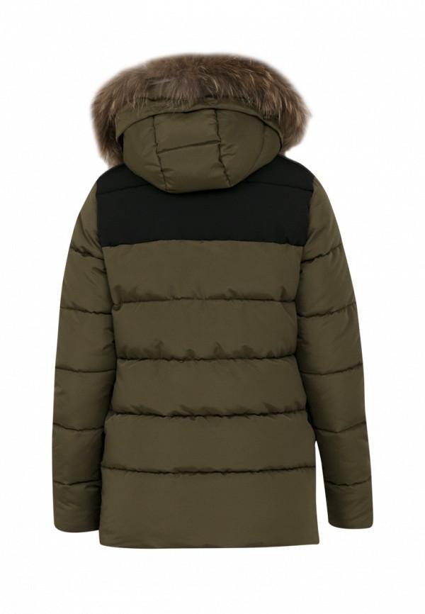 Куртка для мальчика утепленная Jan Steen цвет хаки  Фото 2