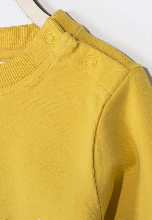 Лонгслив для мальчика Coccodrillo цвет оранжевый  Фото 3