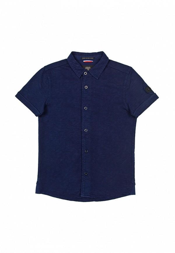 рубашка le temps des cerises для мальчика, синяя
