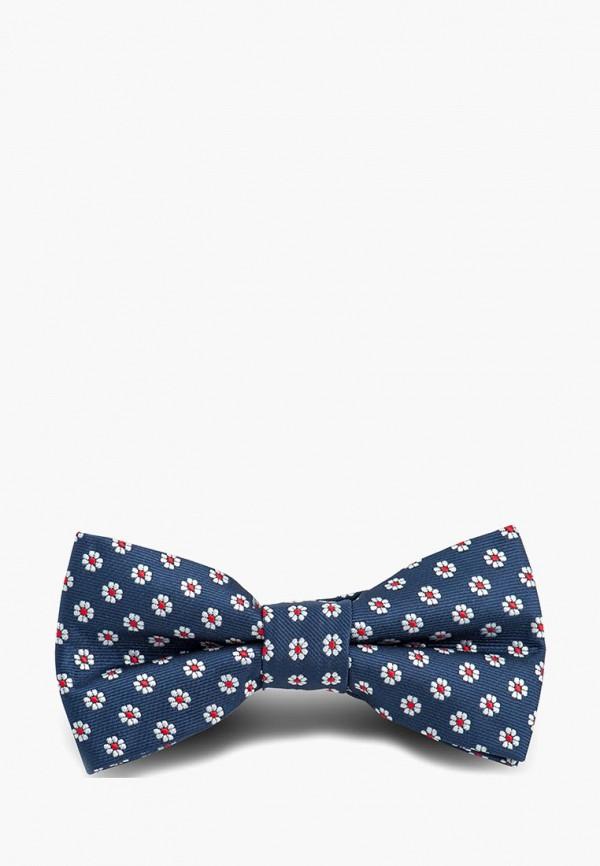 галстуки и бабочки stenser для мальчика, синие