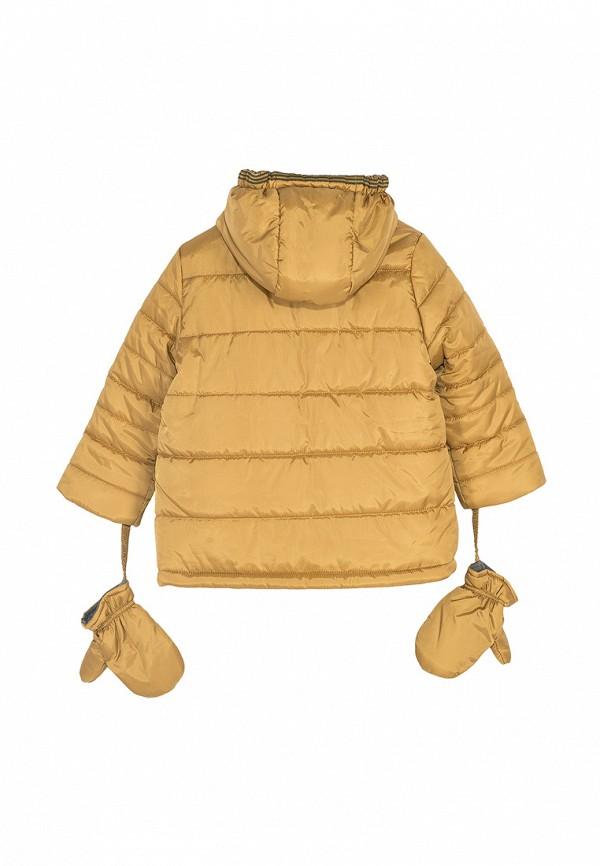 Куртка для мальчика утепленная Coccodrillo цвет желтый  Фото 2