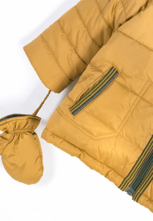 Куртка для мальчика утепленная Coccodrillo цвет желтый  Фото 3