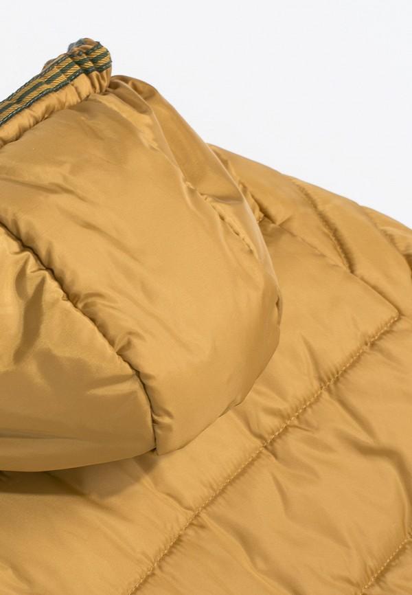 Куртка для мальчика утепленная Coccodrillo цвет желтый  Фото 4
