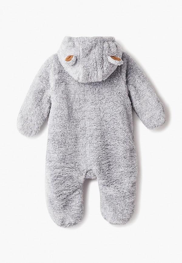 Детский комбинезон Coccodrillo цвет серый  Фото 2