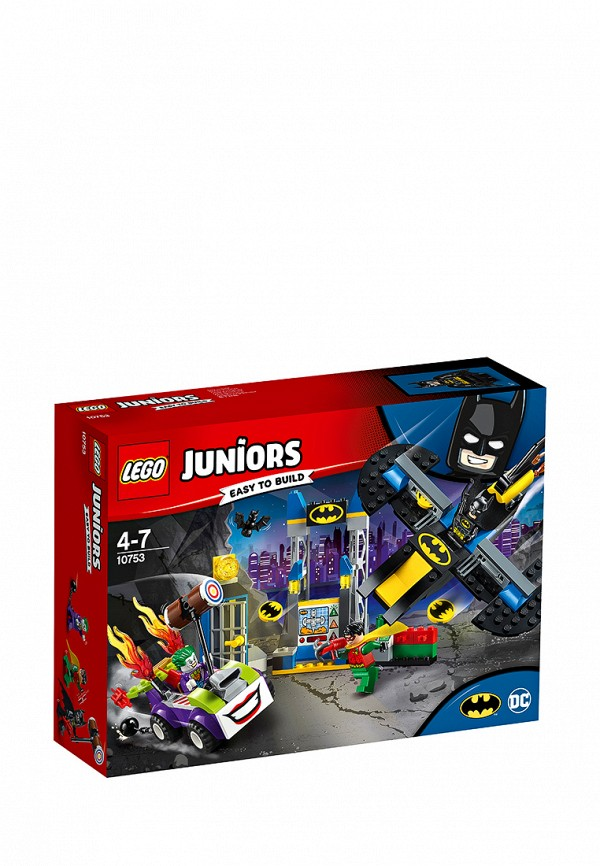 Конструктор Juniors Lego Lego MP002XB0085O lego juniors оборона бэтпещеры™
