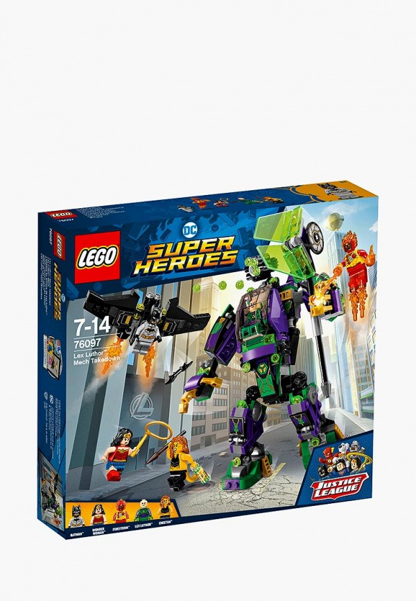 Конструктор DC Super Heroes Lego Lego MP002XB00869 конструктор lego super heroes нападение с воздуха 76087 l