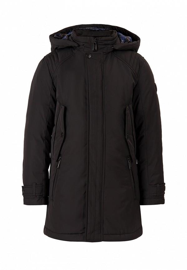 куртка finn flare для мальчика, черная