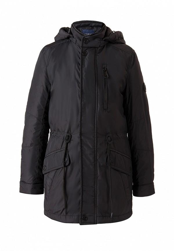 Куртка для мальчика утепленная Finn Flare цвет черный