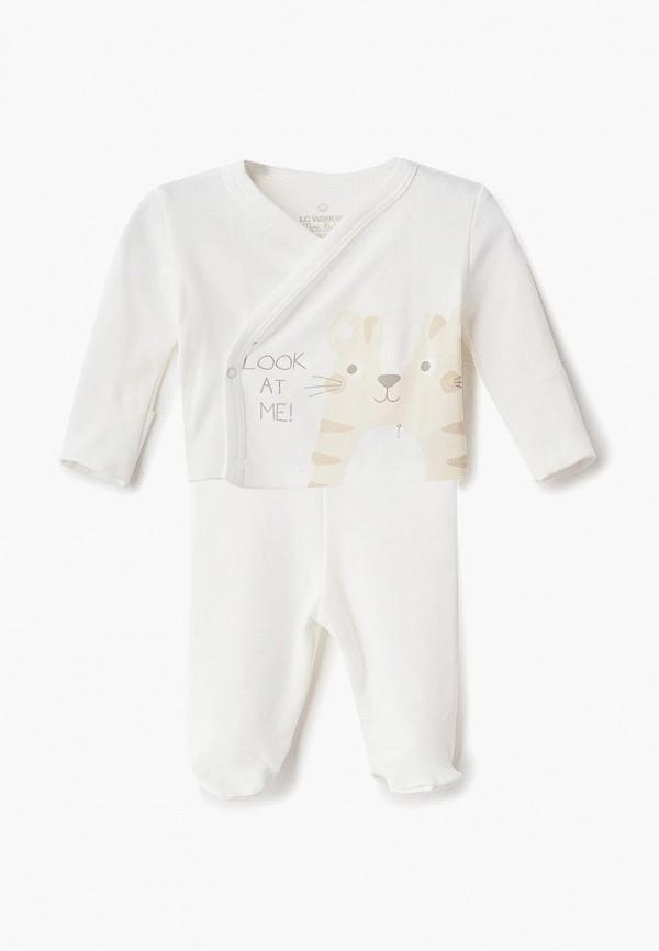 костюм lc waikiki для мальчика, белый