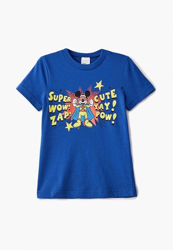 футболка свiтанак для мальчика, синяя