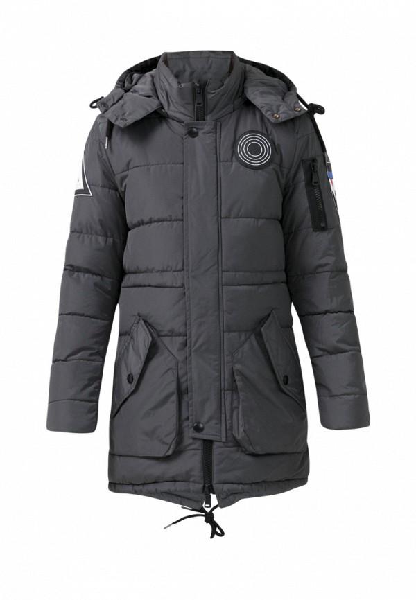куртка jan steen для мальчика, серая